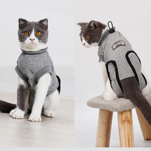 Cat Clothes Recovery Suit For Cat Sterilization Care Wipe Medicine Prevent Lick After Surgery Wear Weaning Suit For Cats Dog Pet
