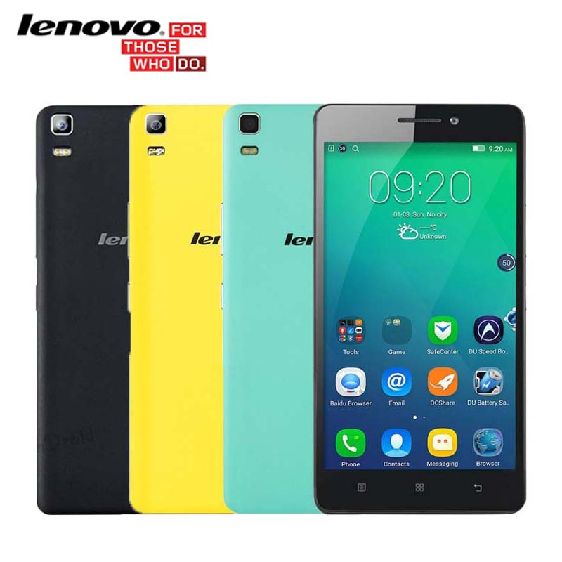 Original Lenovo K3 Note K50-T5 K50-T3s Android Mobile Phone MTK6752 Octa Core 4G FDD LTE 5.5