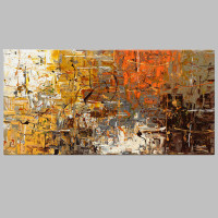 Frameless Picture Painting Abstract Oil Paintings On Canvas Handmade Colorful Wall Art Modern Art For Home