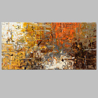 Frameless Picture Painting Abstract Oil Paintings on Canvas Handmade Colorful Wall Art Modern Art for Home Decor