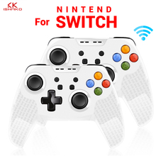 K ISHAKO new 1Pc/2pcs Wireless Bluetooth Controller For Nintend Switch Pro Host Vibration Gamepad Console Joystick For NS Switch for switch pro bluetooth wireless controller for ns splatoon2 remote gamepad for nintend switch console joystick