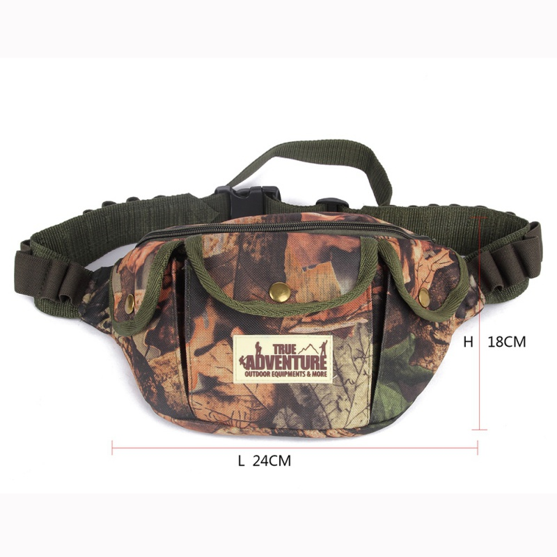 Outdoor Hunting Pack Belt Bag Tactical Camouflage Sports Camping Hiking Waist Containing Bullet Bag New Sports Bags Sports & Entertainment