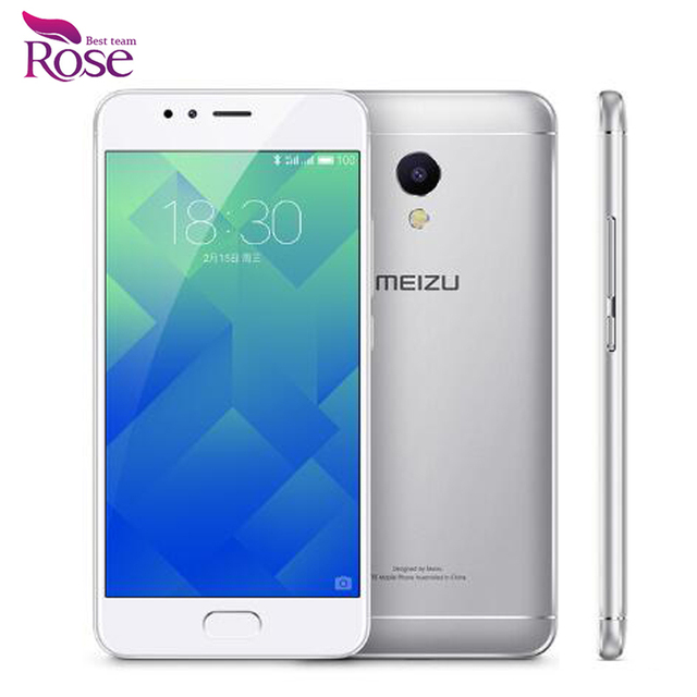 "Original MEIZU M5S MTK6753 Octa Core Mobile Phone 3GB RAM 16GB ROM 5.2"" HD IPS 13.0mp Fingerprint Fast Charging"