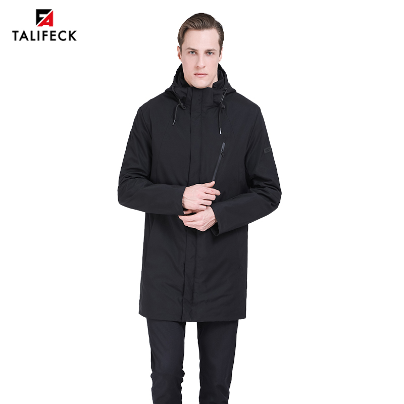 Mwxsd brand winter casual men s warm hooded parka jacket and coat men thick fur warm