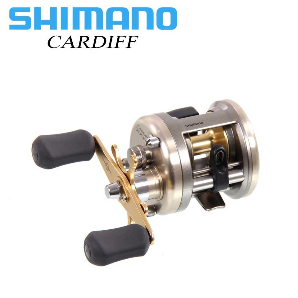 SHIMANO Round Reel CARDIFF 5 2 1 5 8 1 Ratio 4 5 5 0KG Max