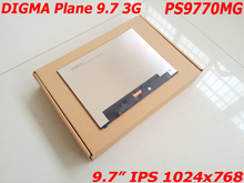 New 9.7 LCD Display for DIGMA Plane 9.7 3G (PS9770MG) IPS 1024x768 Matrix Inner LCD Screen Panel Replacement 10 1inch 31pin lcd matrix display for digma plane e10 1 3g ps1010mg screen display tablet parts for digma plane e10 1 3g