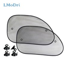 Lmodri 2 шт автомобильные Передние боковые окна занавески солнцезащитный