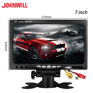 7 inch 800 * 480 AV input screen computer monitor pc suitable for industrial vehicle reverse backup rear view LCD monitor