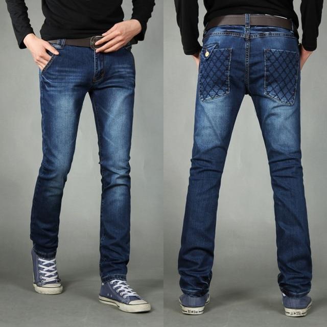 85082875cd7 men fashion brand designer Hot sale jeans brand big size jeans men high  quality wear Men s fashion skinny leg stretch jeans