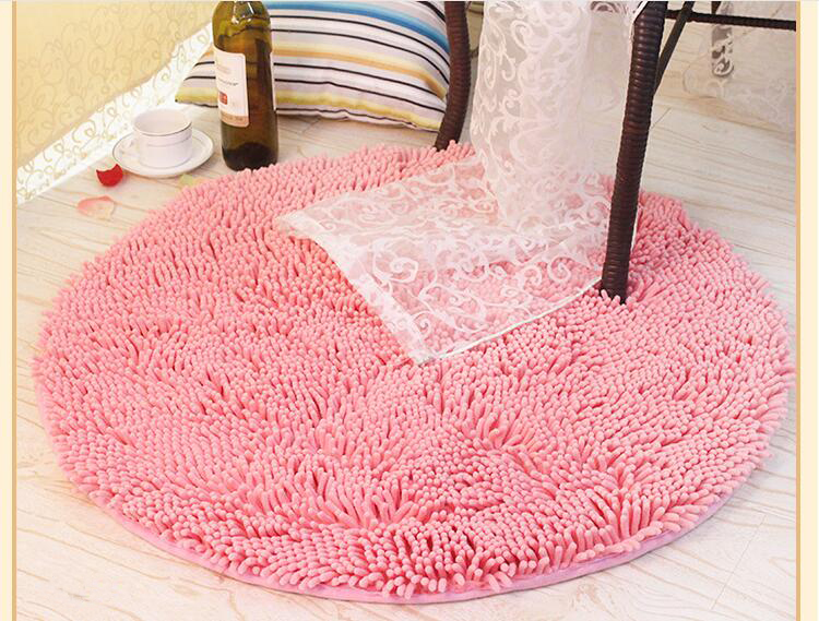 ∞Round Floor Carpet Rugs Living Dining Bedroom Mat Area Rugs Anti ...
