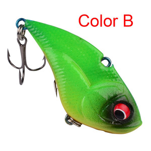 Image 4 - 1Pcs High Quality Crank Metal Vibration Lures 50mm 13g  With Lead Inside Fishing VIB Lure Sinking Artificial Vibrator Bass Bait
