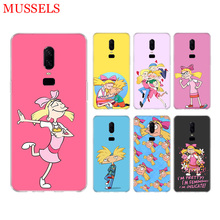 Hey Arnold Fondos Phone Back Tpu Case for OnePlus 7 Pro 6 6T 5 5T 3 3T 7Pro Art Gift Patterned Customized Cases Cover Coque Capa