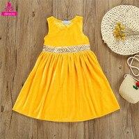 38709c371 Abrache Princess Solid Dresses Baby Girls Clothing Summer Cotton Girl  Casual Dresses Party Children 0 6. Abrache princesa vestidos sólidos bebé  Niñas ...