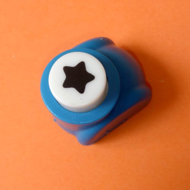 1 шт./лот, мини-дырокол для рукоделия, для скрапбукинга, Дырокол ручной работы, дырокол для рукоделия, подарочная карта, бумажный дырокол, CL-1203 - Цвет: lucky star