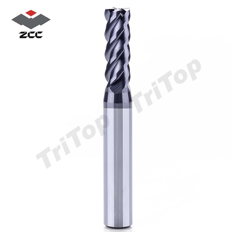 ZCC.CT GM-4E-D7.0 tsementeeritud karbiidiga 4 flöödi 7mm otsfreesid - Tööpingid ja tarvikud - Foto 3