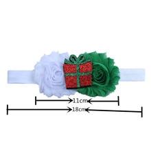 Christmas Stretch Baby Girl Headband