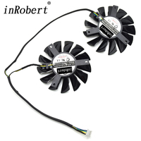 MSI Twin Frozr III Series Video Card Cooling Fan Replacement Kit GTX680 R7970 Heat Sink Silicone