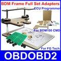 Quadro BDM BDM100 Programador Suporta de alta Qualidade FG Tecnologia Galletto 4 Conjunto Completo De Adaptadores CMD Fgtech V54 ECU Tuning Chip Ferramenta