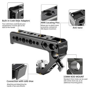 Image 3 - SmallRig zimny Adapter do butów uchwyt do montażu lustrzanki cyfrowe i klatki ze śruby skrzydełkowe + 15 mm zacisk pręta uniwersalny uchwyt 2094