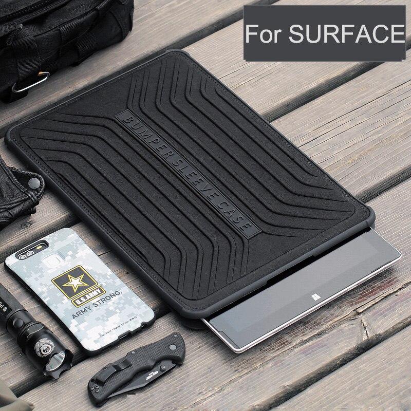 2018 Tablet Case pour Microsoft Surface Pro 2017/Pro 4 Domaine Militaire Ordinateur Portable Manches Sac 13.3 pouce Couverture pour surface Pro 5