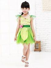 Платье принцессы для косплея elf юбка вечерние tinkbell рождества