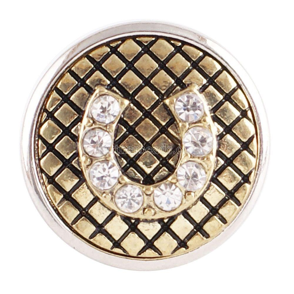 Jewelry & Accessories Sweet-Tempered Simple Faithful Cross 20mm Snap Button Metal Snap Fit Snaps Bracelet Necklace Snap Jewelry With Rhinestone Partnerbeads Kc6033