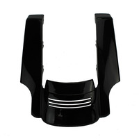 New Motorcycle Black Stretched Rear Fender Extension For 2009 2013 Harley Touring Street Road Glide Bike 2012 2011 2010
