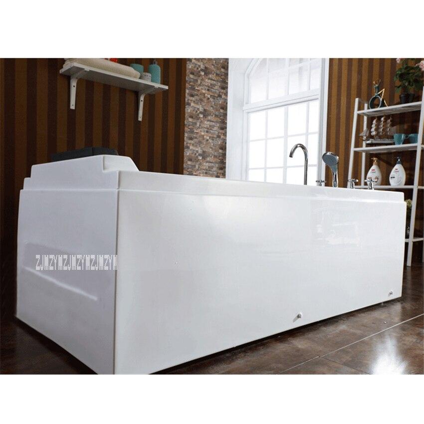 1,4 м Бытовая акриловая Стекловолоконная вихревая гидромассажная Ванна Freesstandins для взрослых, ванны для серфинга, массажная функция, ванная к...