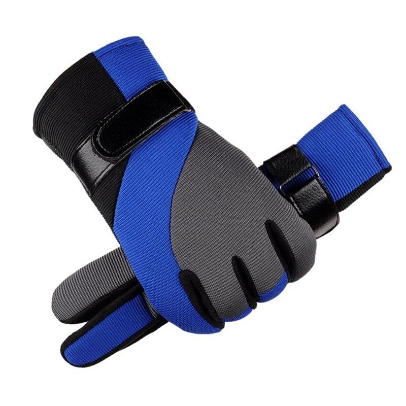 men women gloves winter touchscreen gloves mittens 2017 winter warm fleece lined full finger black gloves driving ski Motorcycle