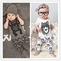 Criança Macacão de Bebê Menino de Verão Conjuntos de Roupas de Bebê Meninas Dos Desenhos Animados Manga Curta Bebê Recém-nascido Roupas Roupas Infantis Macacões