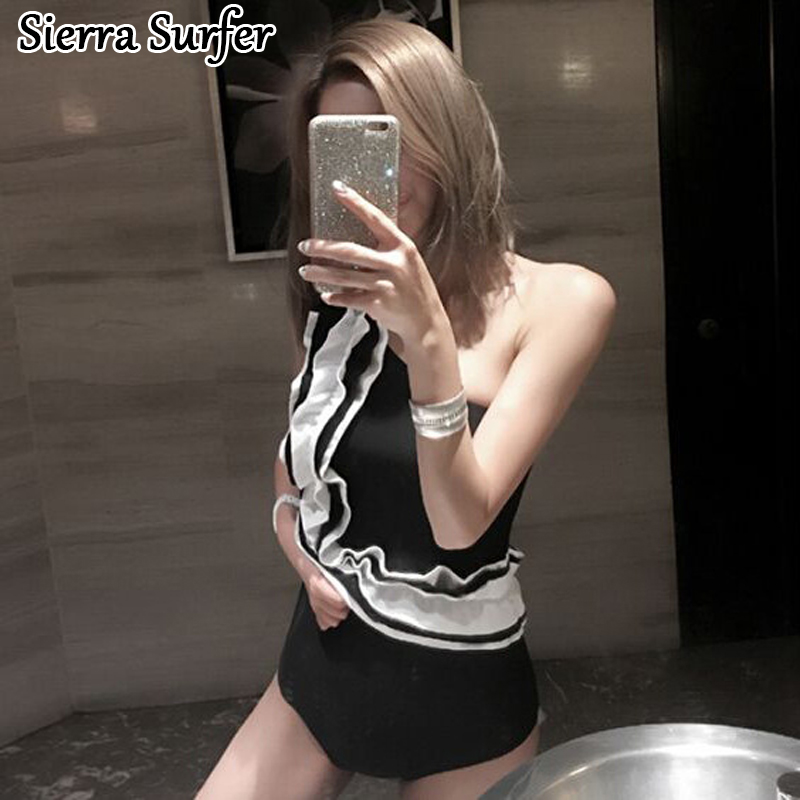 Lady Bikini 2018 Swimwear One Piece Female Womens Swim Suit Wear One-Piece Swimsuit Color Lace Triangle Bathing Cover Sexy cheap sexy bathing suits swim suit one piece plus size swimwear womens wear 2017 new korean lovely woman lace triangle badpak