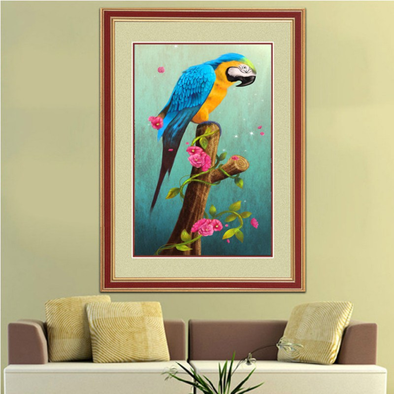 Fine Parrot Wall Art Ensign - Wall Art Design - leftofcentrist.com