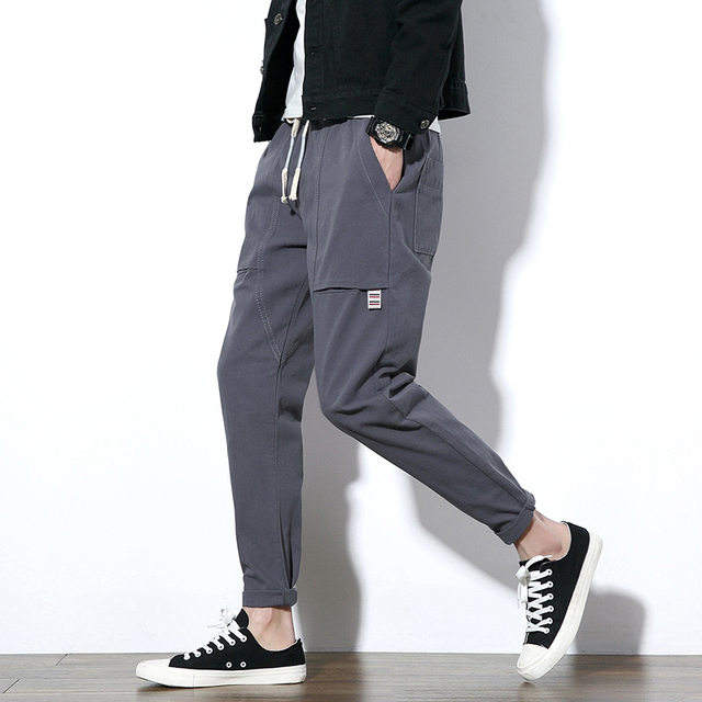 896ae33c945 Japan Style Pants Men 2018 Autumn New Pocket Design Harem Pant Boys Plus  Size Casual Loose Trousers Mens Pantalon Hombre 5XL-M