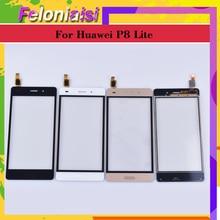 10Pcs/lot For Huawei P8 Lite ALE-L04 ALE-L21 ALE-TL00 ALE-L23 Touch Screen Touch Panel Sensor Digitizer Front Glass Touchscreen