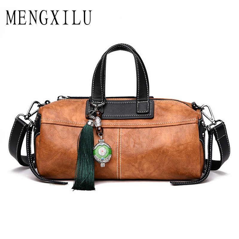 440ce60e28ec Высокое качество из мягкой кожи для женщин сумка в форме подушки сумка плед  сумки большой ёмкость