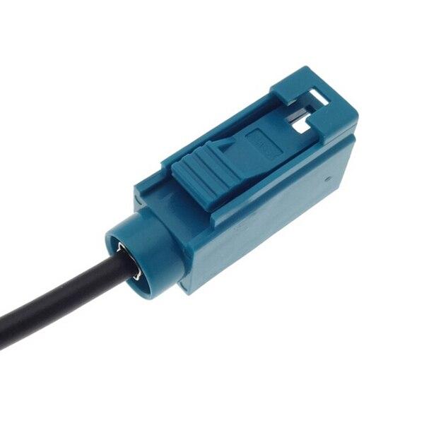 B type 8pin Car Navigation RCA Rear View Camera adapter For HBS Coagent Caska