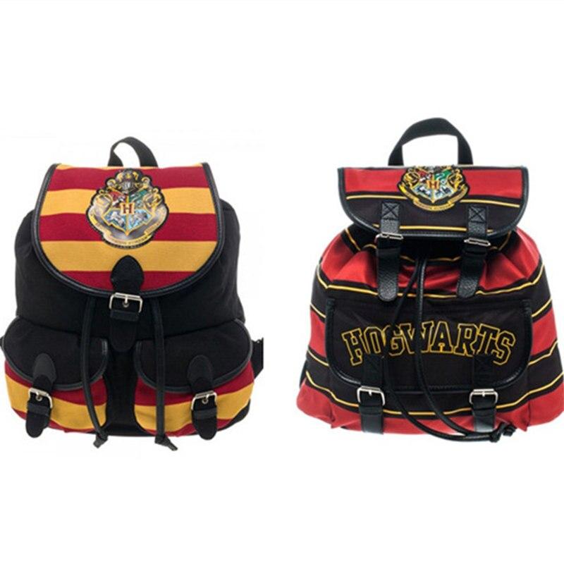Hogwarts Harry po Cosplay Prop backpack Gryffindor Slytherin Symbol Dumbledore Magic college schoolbag Toy for girl/boy/men Gift