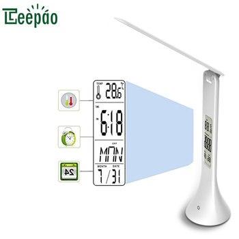 18LED 3,5 W LED regulable para protección de los ojos Luz de libro ...