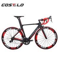 Costelo полный велосипед углерода дорожный мотоцикл bici completa велосипеда список групп колесо bicicleta велосипедов Группа DI2