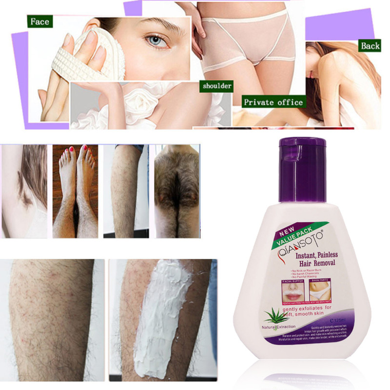 2019 Essential Aloe Facial Beard Permanent Hair Removal Cream