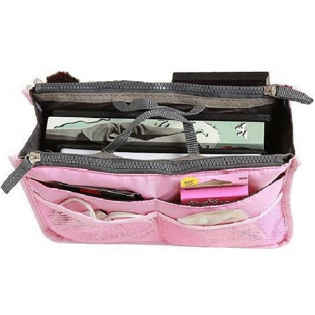 14 Colors Make up Organizer Bag Women Men Casual Travel Storage Bag Multi Functional Cosmetic Bags Makeup Handbag 4