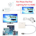 Разъем Lightning 8 Контактный для HDMI Адаптер Цифровой Кабель HDTV А. В. для Apple iPhone 5 6 6 S 7 7 Плюс iPad 1080 P