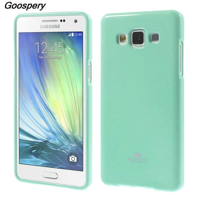 9a4975268fa Para Samsung A5 2015 caso Mercury goospery Glitter polvo suave TPU gel funda  para Samsung Galaxy