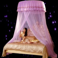 1pcs Mosquito Repellent Mosquito Net Hanging Dome Luxury Romantic Princess Bed Home Furnishing Bedding Decoration