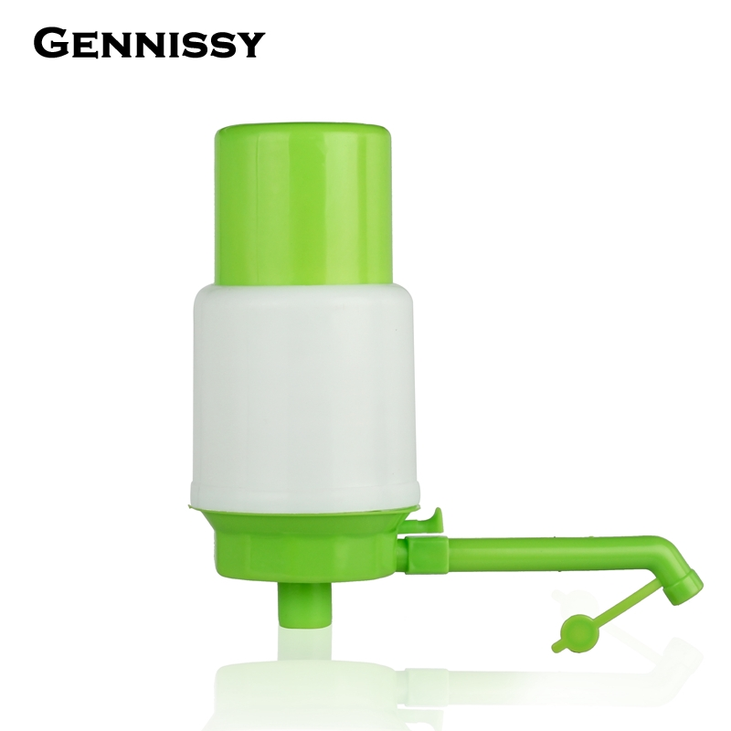 GENNISSY Hot sale in stock 5 Gallon Water Bottle Jug Hand Pump Bottle Note Included Save