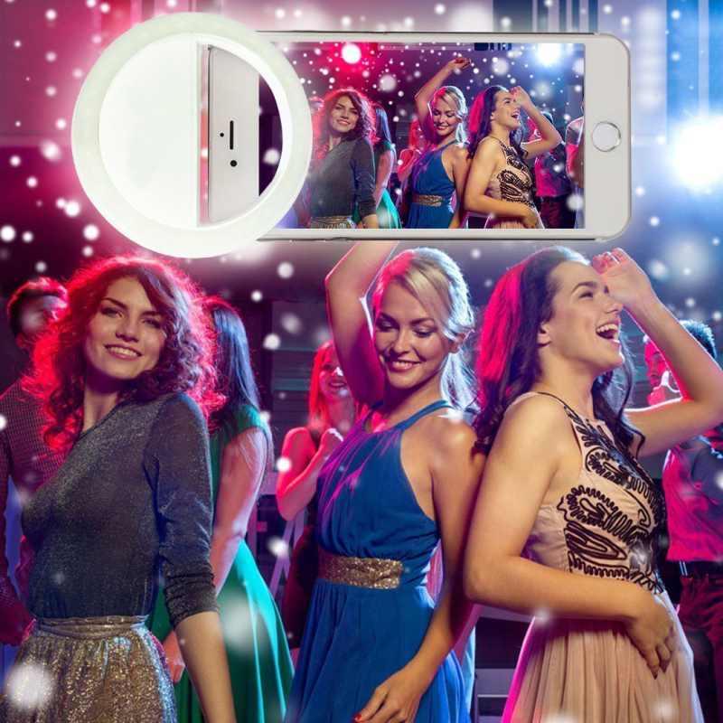 Charm Eyes ұялы телефоны Selfie Ring жарық Up Flash - Камера және фотосурет - фото 2