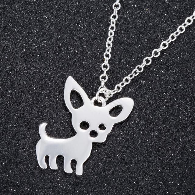 Cute Chihuahua Pet Dog Necklace