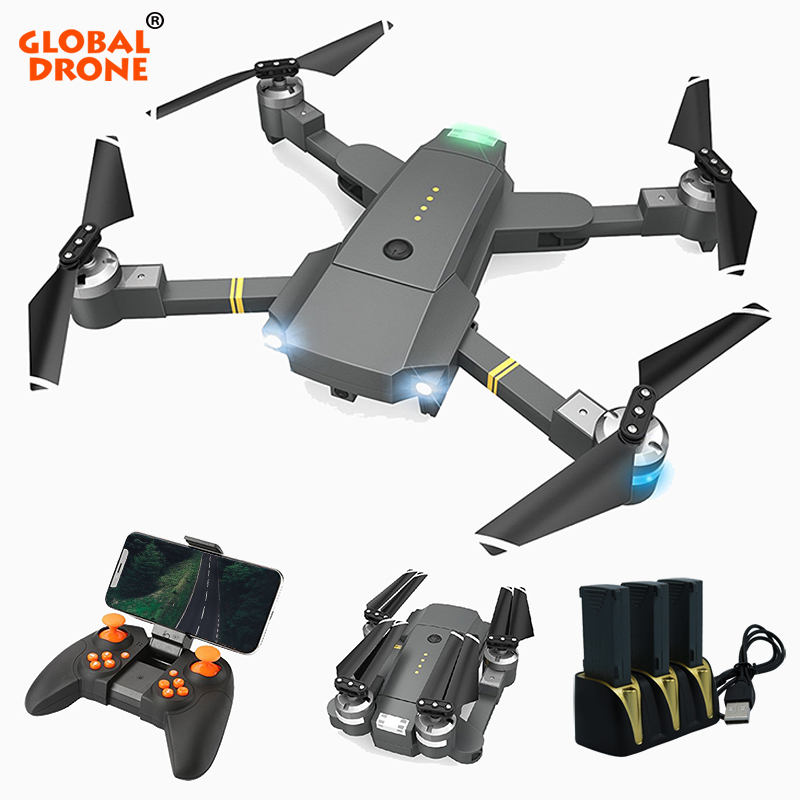 Global Drone Selfie Phone Control RC Drone Professional Helicopter Wifi Quadcopter Foldable Drones with Camera HD vs xs809hw E58 drone a6w wifi ffv selfie drone foldable quadcopter with hd camera rc quadrocopter vs xs809hw jy018