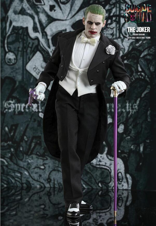 Movie DC Suicide Squad Joker Tuxedo Ver. Action Figure PVC Collectible Model Toys