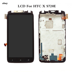 Image 1 - 4.7 For HTC One X S720e LCD Sensor Touch S720e Screen Digitizer Full Assembly For HTC S720e Display Black With/No Frame
